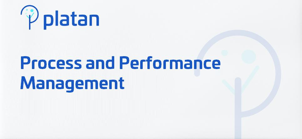 Process and Performance Management